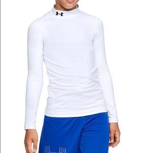 Under Armour Youth Cold Gear Mock Turtleneck